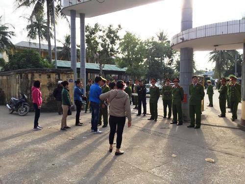 Trại tạm giam Công an tỉnh Quảng Ninh (Lán 14) nơi hai can phạm đang bị tạm giam. Ảnh: Minh Cương
