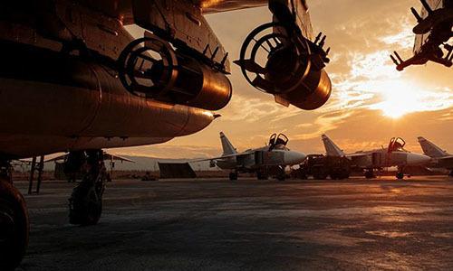 Nga nã pháo diệt nhóm phiến quân tập kích căn cứ ở Syria