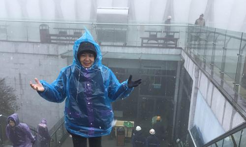 Tuyết rơi ở đỉnh Fansipan