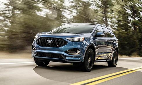 Ford Egde ST 2019 ra mắt trước thềm triển lãm Detroit, Mỹ.