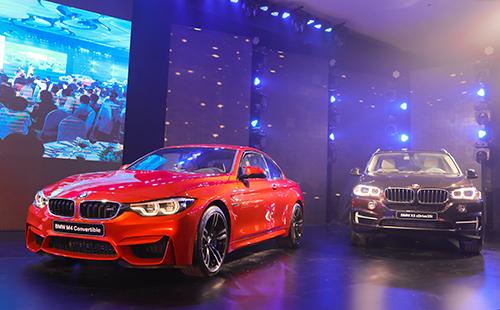 Thời gian đầu Trường Hải vẫn bán xe BMW nhập khẩu. Ảnh: Thành Nhạn.
