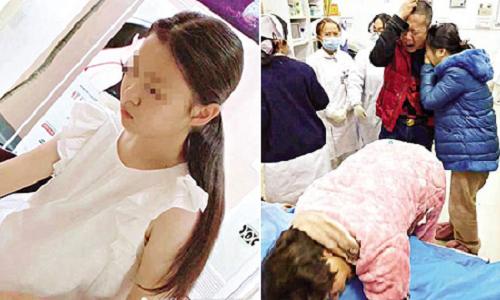 Nữ sinh Trung Quốc bị bạn đâm chết vì không làm hộ bài tập