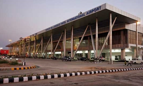 Bò gây náo loạn sân bay ở Ấn Độ