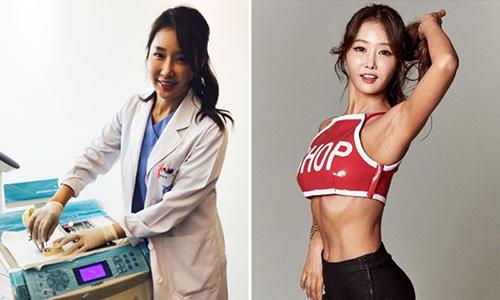 Bà mẹ Hàn Quốc 48 tuổi có thân hình bốc lửa