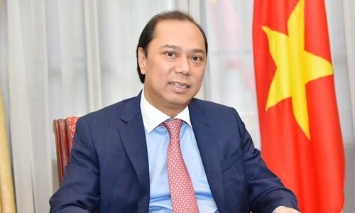 Thứ trưởng Ngoại giao Nguyễn Quốc Dũng. Ảnh: BNG.