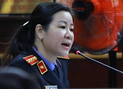 Đại diện VKS. Ảnh: Quỳnh Trần.