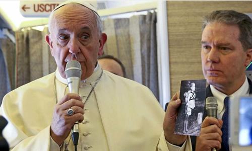 """Giáo hoàng: """"Thế giới chỉ cách chiến tranh hạt nhân một sự cố"""""""