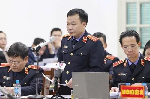 VKS đề nghị tòa giảm án cho 6 thuộc cấp của ông Đinh La Thăng