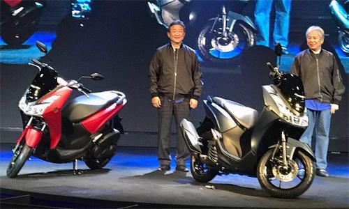 Yamaha LEXi 125 ra mắt tại Indonesia sáng ngày 15/1.
