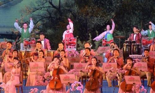 Dàn nhạc Triều Tiên 140 người sẽ tới Hàn Quốc biểu diễn