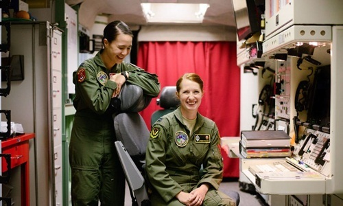 Những bóng hồng phụ trách phóng tên lửa hạt nhân Mỹ