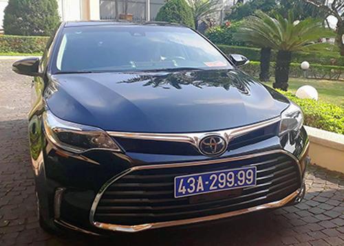 Xe Toyota do doanh nghiệp tặng từng được nguyênBí thư Thành ủy Đà Nẵng Nguyễn Xuân Anh sử dụng. Ảnh:N.Đ.
