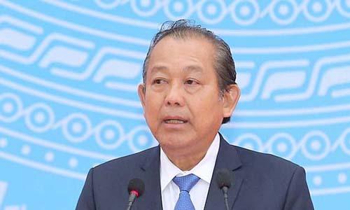 Phó thủ tướng yêu cầu lập tổ công tác thanh tra việc đề bạt cán bộ