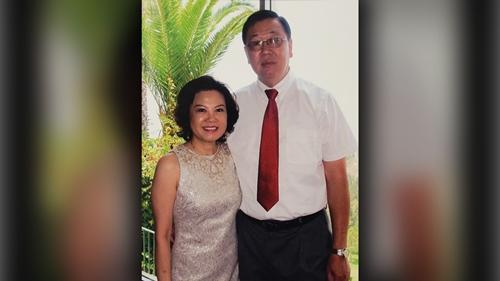 Ông Bao Lam và bà Jenny Lam. Ảnh: