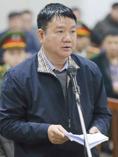 Ông Đinh La Thăng trong ngày 18/1. Ảnh: TTXVN
