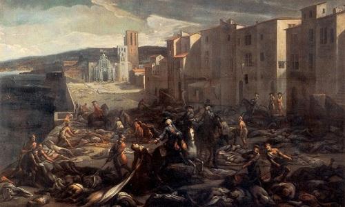Căn bệnh dịch hạch đã tàn phá nhiều thành phố của châu Âu. Ảnh: Phys.org.