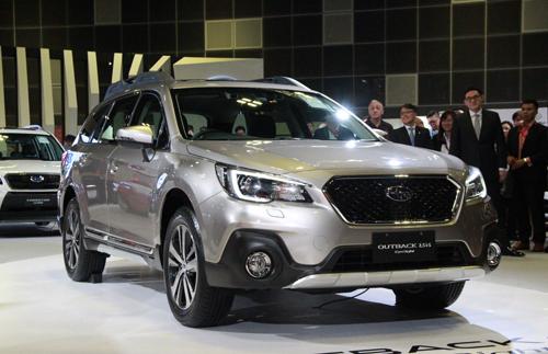 Subaru Outback 2018 ra mắt tại triển lãm Singapore