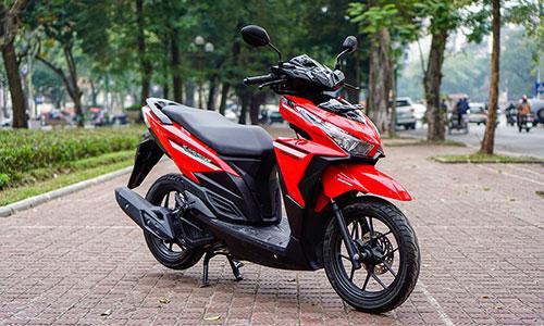 Honda Vario 125 bản 2018 đầu tiên ở Hà Nội. Ảnh: Lương Dũng.