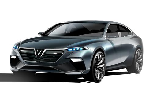 Mẫu sedan sẽ đi vào sản xuất do Italdesign thiết kế.
