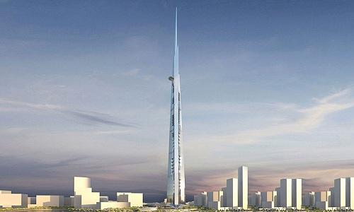 Diện mạo tháp Jeddah sau khi hoàn thiện. Ảnh: Business Insider.
