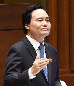 Bộ trưởng Phùng Xuân Nhạ cho biết chất lượng hiệu trưởng hiện nay rất có vấn đề. Ảnh: CTV
