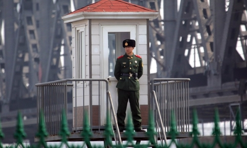 Trung Quốc tăng lính biên phòng, lắp máy quay ứng phó khủng hoảng Triều Tiên
