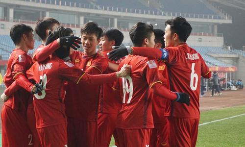 Ba bàn của Việt Nam trong trận thắng Iraq