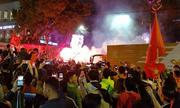 Sài Gòn, Hà Nội cờ rợp đường mừng đội tuyển U23