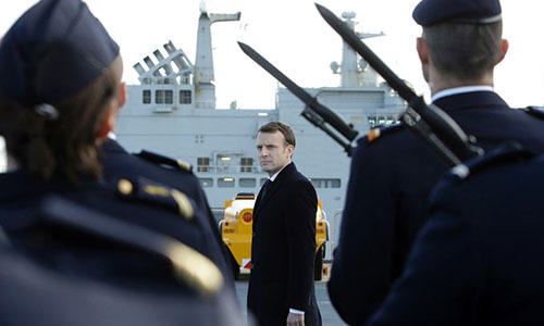 Pháp đầu tư mạnh vào quốc phòng, chú trọng vũ khí hạt nhân