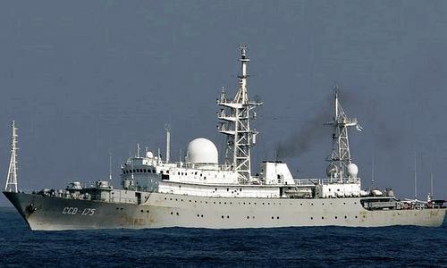 Tàu do thám Nga xuất hiện ngoài khơi nước Mỹ