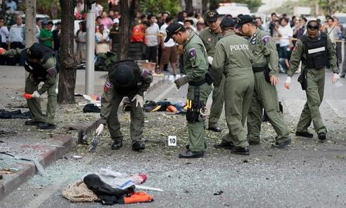 Đánh bom khu chợ ở Thái Lan, ba người chết