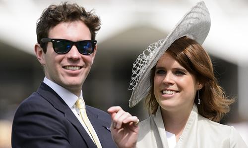 Công chúa Eugenie và bạn trai Jack Brooksbank. Ảnh: REX.