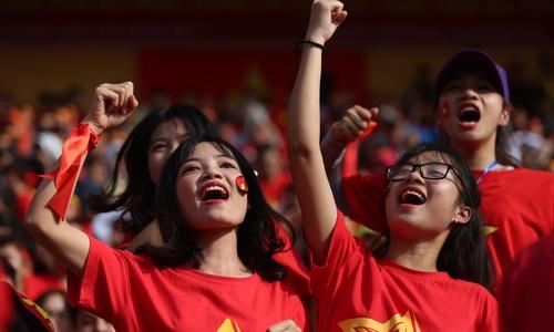 4.000 cổ động viên Hà Nội đến sân Hàng Đẫy cổ vũ U23