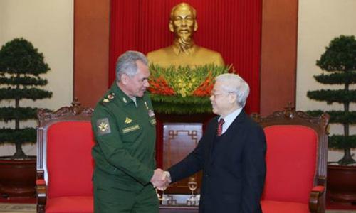 Việt Nam muốn Nga đóng vai trò lớn hơn ở châu Á - Thái Bình Dương
