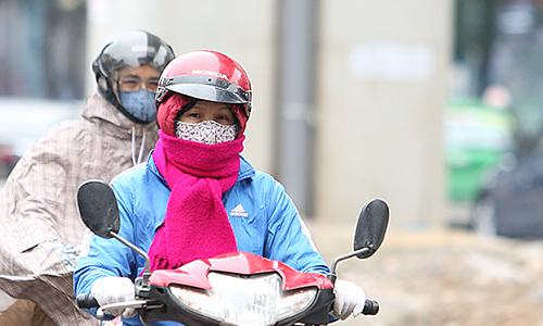 Ngày mai miền Bắc đón không khí lạnh