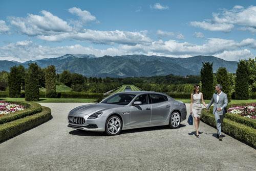 Maserati còn dành cho những người thích tự cầm lái.