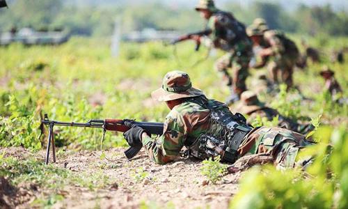 Campuchia sắp diễn tập quân sự chung với Trung Quốc