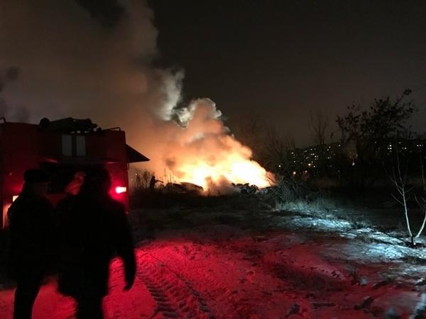 Trực thăng Mi-8 Ukraine bốc cháy tại