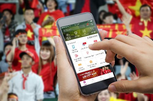 'Lì xì' tuyển U23 Việt Nam bằng Ví MoMo