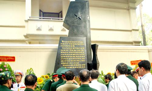 TP HCM khánh thành bia tưởng niệm chiến sĩ Biệt động Sài Gòn