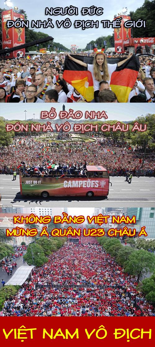 Độ cuồng nhiệt thì cổ động viên Việt Nam là số 1.