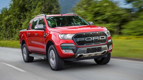Ảnh phát thảo Ford Ranger Raptor 2019. Ảnh: Drivemag.