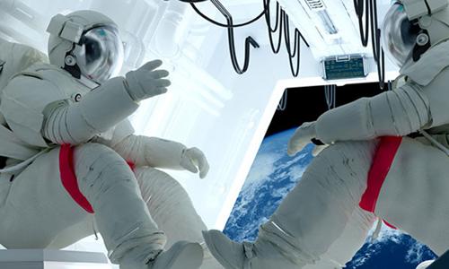 Thực phẩm là một vấn đề quan trọng trên các chuyến du hành vũ trụ dài ngày . Ảnh: Lab Manager.