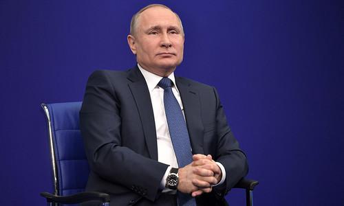 """Putin lên án """"Báo cáo Kremlin"""" của Mỹ là hành động thù địch"""