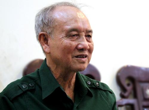 Đại tướng Phạm Văn Trà. Ảnh: Trần Duy.