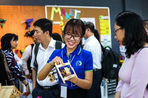 Không gian sáng chế - Innovation Space là loại hình giáo dục trải nghiệm mới dành cho học sinh yêu thích khoa học, công nghệ.