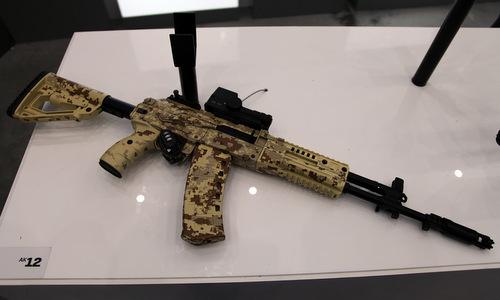 Nga chọn súng trường AK-12 và AK-15 cho chiến binh tương lai