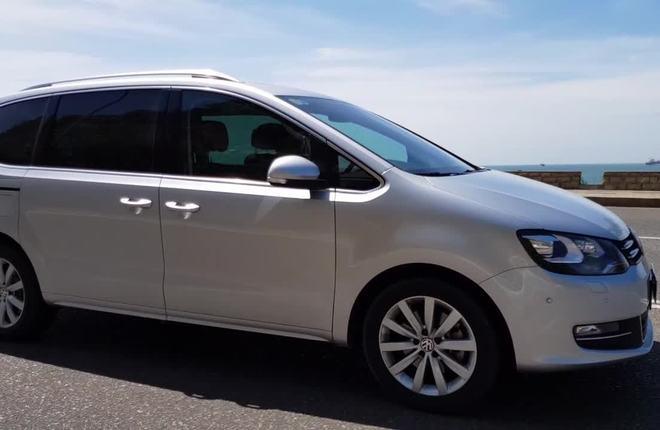 Volkswagen Sharan - xế gia đình mới lạ ở Việt Nam