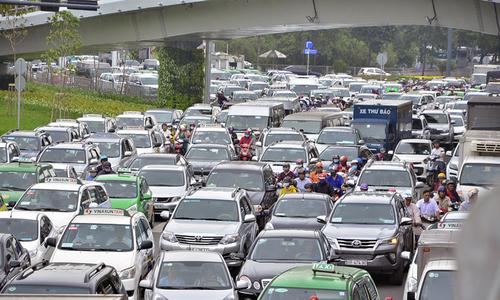Tân Sơn Nhất lên phương án chống kẹt xe trước Tết