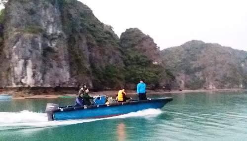 Biên phòng cứu hai du khách nước ngoài lạc trên núi ở Hải Phòng